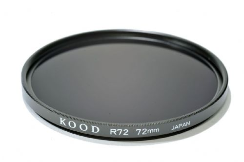Kood High Quality R720  Infrared Special Effects Filter 72mm Made in Japan